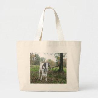 Cabra amistosa bolsa de mano