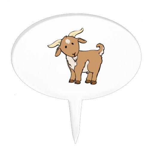 Cabra de Billy del dibujo animado Figuras Para Tartas
