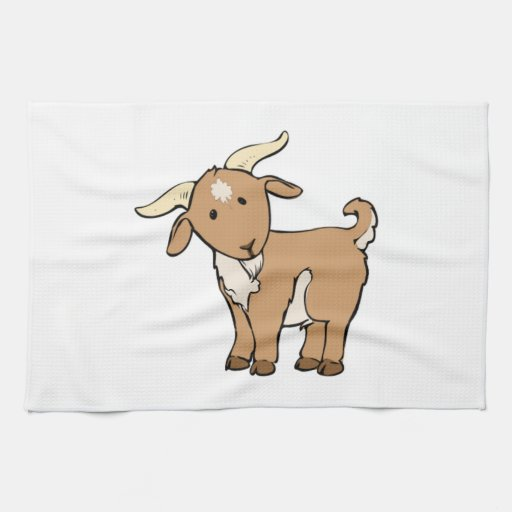 Cabra de Billy del dibujo animado Toalla