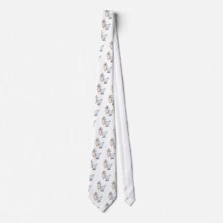 cabra de billy tonta del dibujo animado corbatas personalizadas