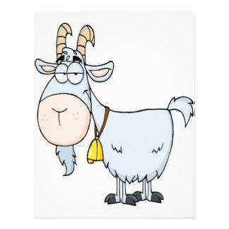 "cabra de billy tonta del dibujo animado folleto 8.5"" x 11"""