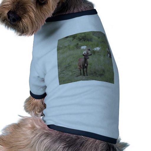 Cabra de Brown Camiseta Con Mangas Para Perro