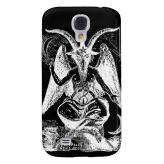 Cabra de Mendes blanco y negro Funda Para Galaxy S4