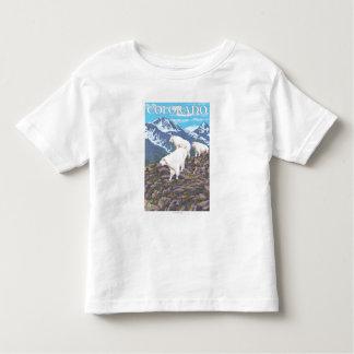 Cabra de montaña blanca FamilyColorado Poleras