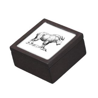 Cabra de montaña caja de regalo de calidad