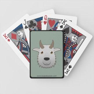 Cabra de montaña de papel baraja de cartas