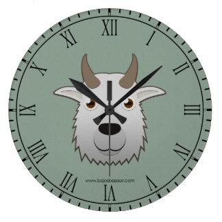 Cabra de montaña de papel relojes