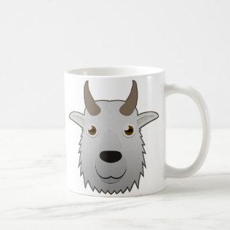 Cabra de montaña de papel taza de café