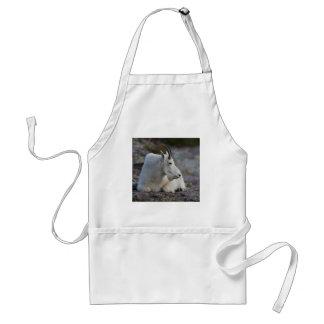 cabra de montaña delantal