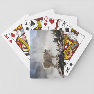 Cabra de montaña en paso del Gunsight Cartas De Póquer