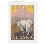 Cabra de montaña - Juneau, Alaska Tarjeta De Felicitación