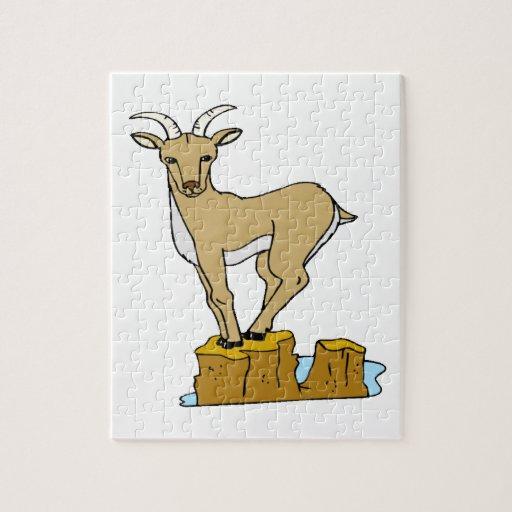 Cabra de montaña puzzle
