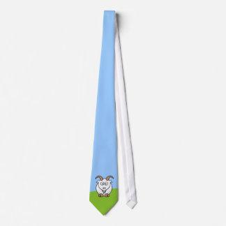 Cabra de Saanen Corbatas Personalizadas