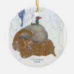 Cabra de Yule del sueco del arte de la fantasía an Adorno De Reyes