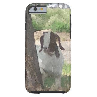 Cabra del Boer de la acuarela Funda De iPhone 6 Tough