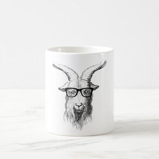 Cabra del inconformista taza clásica
