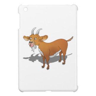 Cabra del marrón del estilo del dibujo animado