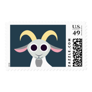 Cabra del Peekaboo Timbre Postal