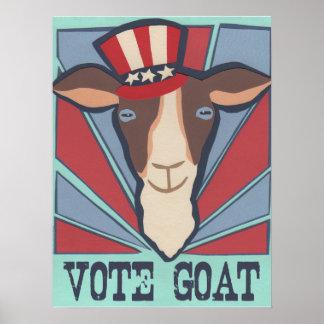 ¡Cabra del voto! Póster