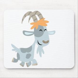 Cabra fresca linda Mousepad del dibujo animado