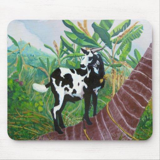 Cabra jamaicana alfombrillas de ratones