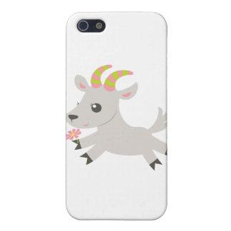 Cabra locuaz de los animales de ABC iPhone 5 Fundas