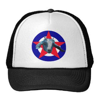 Cabra militante gorros bordados