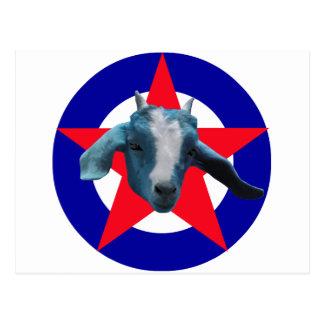 Cabra militante postal