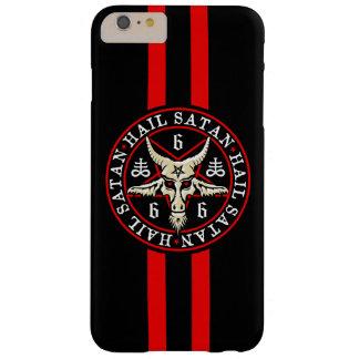Cabra oculta de Satan Baphomet del saludo en Funda Barely There iPhone 6 Plus