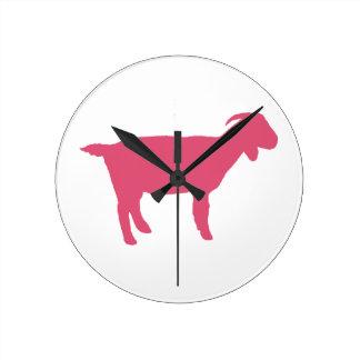 Cabra rosada relojes