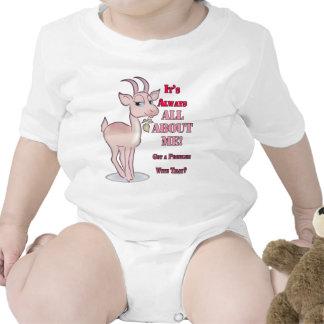 Cabra sarcástica divertida camiseta