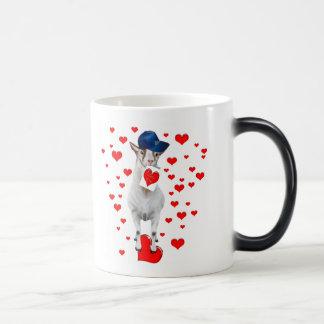 Cabra-Tarjeta del día de San Valentín-Yo LoveYou Taza Mágica