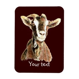 Cabra vieja linda, humor del animal del campo imán