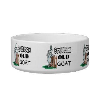 Cabra vieja obstinada comedero para mascota