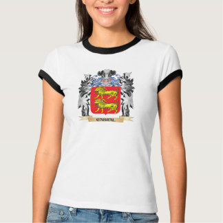 Cabral Coat of Arms - Family Crest Tee Shirt