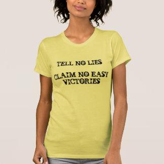Cabral no dice ninguna camisa de las mentiras
