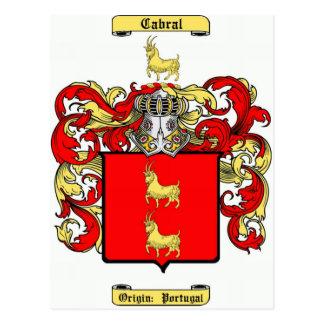 cabral postcard