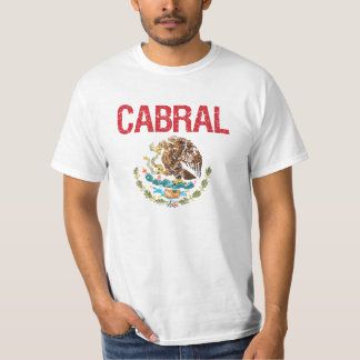Cabral Surname T Shirt