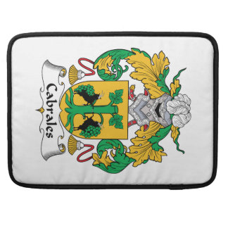 Cabrales Family Crest MacBook Pro Sleeve