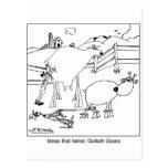 Cabras de Goliat Postales
