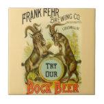 Cabras de la cerveza de Bock Azulejo