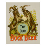 Cabras de la cerveza de Bock Impresiones