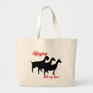 Cabras de la lechería bolsas de mano