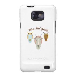 Cabras de Ma de los totes Samsung Galaxy SII Fundas