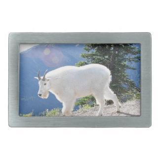 Cabras de montaña hebilla de cinturon rectangular
