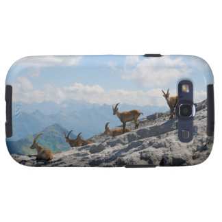 Cabras de montaña salvajes del cabra montés alpino galaxy s3 protector