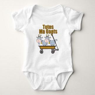 Cabras del mA de los totes Body Para Bebé