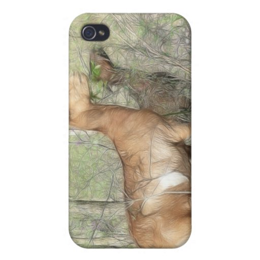 Cabras en el trabajo iPhone 4 fundas
