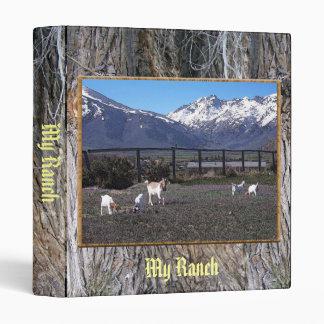 "Cabras en pasto de rubíes de la montaña carpeta 1"""