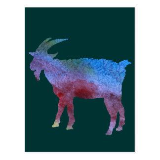 Cabras lavadas color tarjeta postal